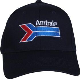 amtrak hat navy