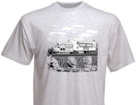 Rio Grande Southern Galloping Goose Authentic Railroad Tee Shirt [10026]