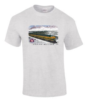 Great Northern Empire Builder Authentic Railroad T-Shirt