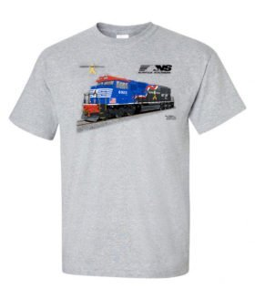 Norfolk Southern Veteran's Tribute Authentic Railroad T-Shirt [101]