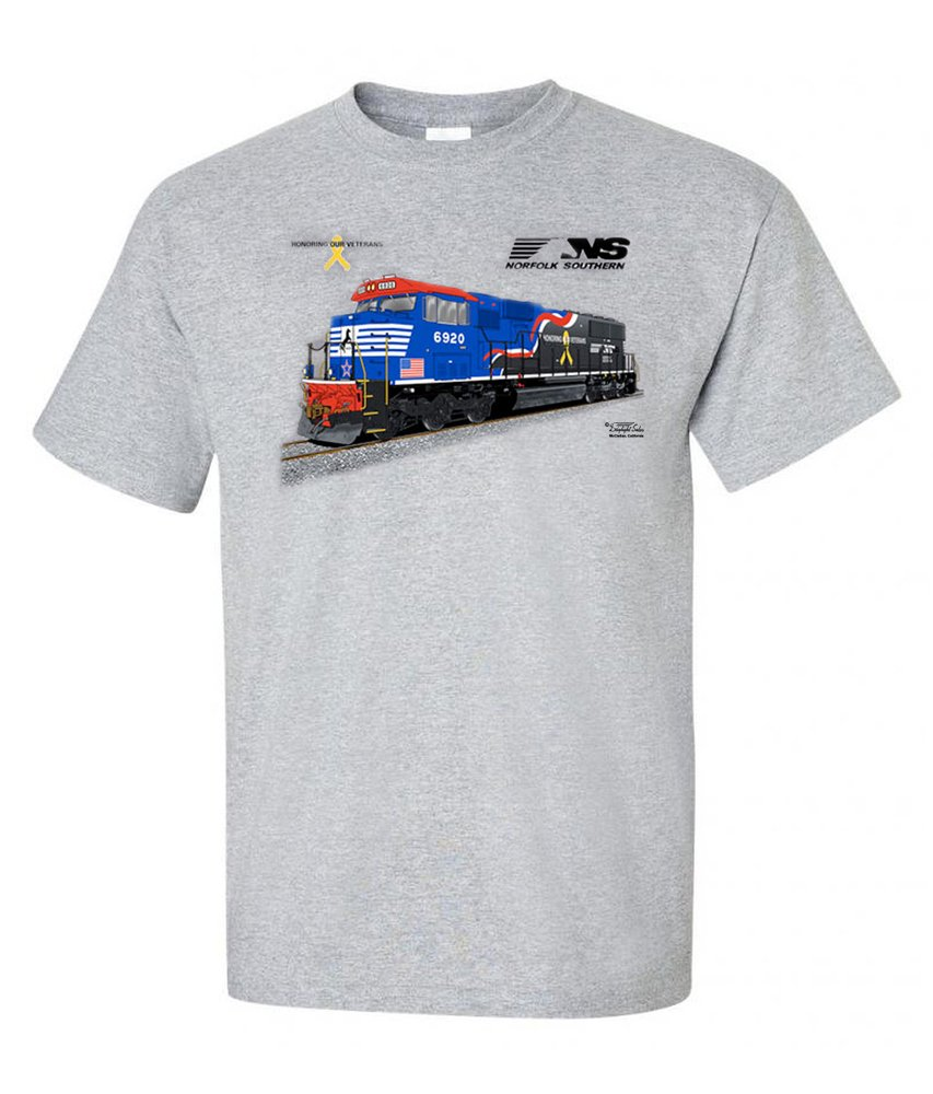 Norfolk Southern Veteran's Tribute Authentic Railroad T-Shirt [101]