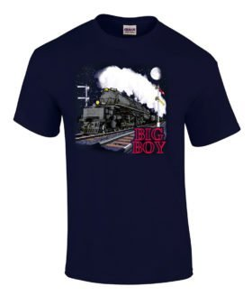 Union Pacific Big Boy Authentic Railroad T-Shirt