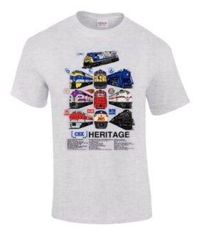 CSX Heritage Authentic Railroad T-Shirt