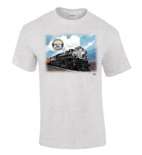 Southern Pacific 4-10-2 #5021 Authentic Railroad T-Shirt [115]