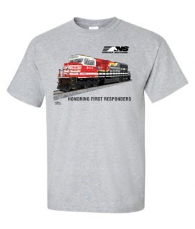 Norfolk Southern First Responders Tribute Authentic Railroad T-Shirt [117]