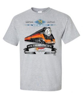 Southern Pacific Daylight 75th Anniversary Railroad T-Shirt [122]