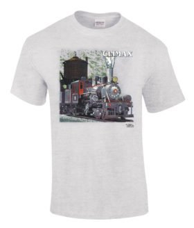Climax Authentic Railroad T-Shirt Tee Shirt [131]