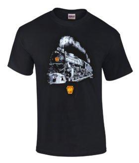 Pennsylvania Railroad K4 1361 Authentic Railroad T-Shirt Tee Shirt [139g]