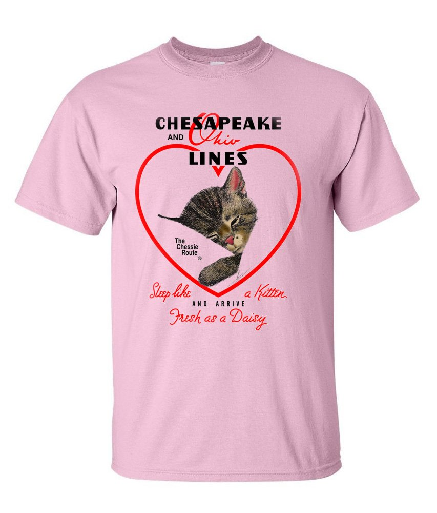 Chessie Hearts and Flowers Authentic Railroad T-Shirt [18]