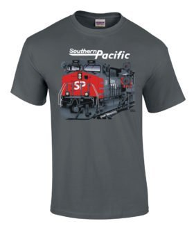 Southern Pacific AC4400 Authentic Railroad T-Shirt [20002]