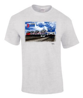 Amtrak Heritage Authentic Railroad T-Shirt
