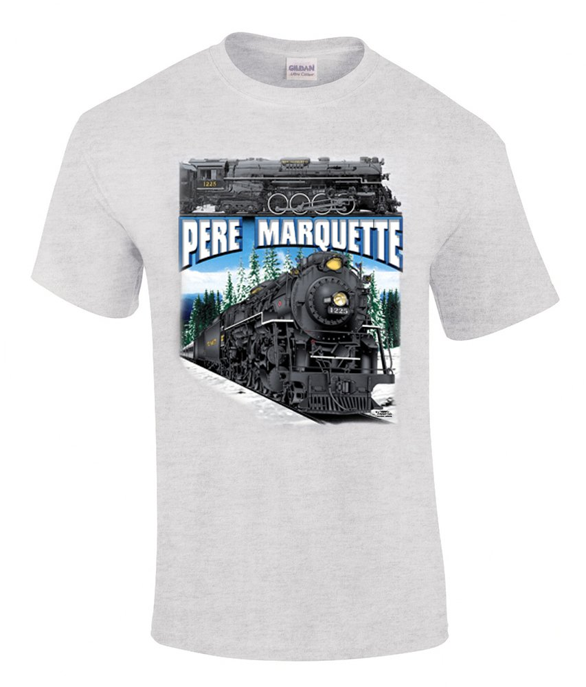 Pere Marquette 1225 Authentic Railroad T-Shirt Tee Shirt