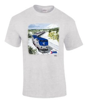 Amtrak Southwest Chief Authentic Railroad T-Shirt