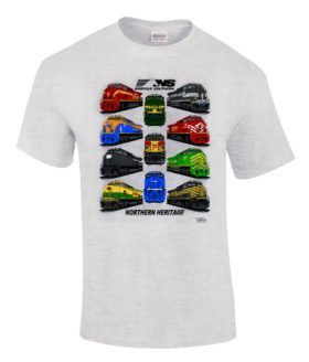 Norfolk Southern Northern Heritage Authentic Railroad T-Shirt