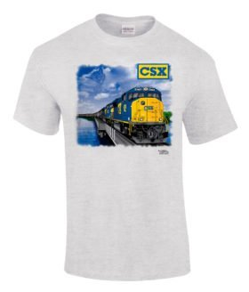 CSX Chessie Lives SD70ACe Authentic Railroad T-Shirt [35]