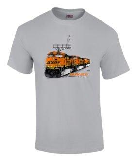 BNSF ES44DC Authentic Railroad T-Shirt