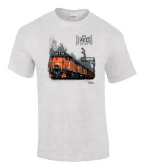 Bessemer and Lake Erie Authentic Railroad T-Shirt Tee Shirt
