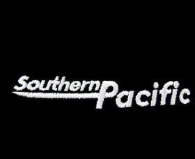Southern Pacific Speed Lettering Logo Embroidered Hat [hat76]