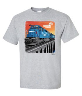 Conrail SDP-45 Authentic Railroad T-Shirt