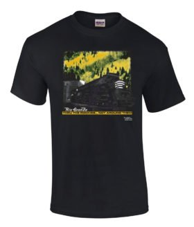 Rio Grande at Moffat Tunnel Authentic Railroad T-Shirt Tee Shirt