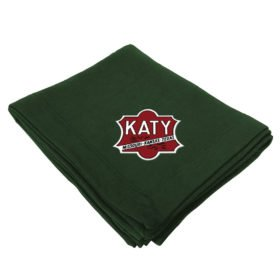 Missouri Kansas Texas Railroad Embroidered Stadium Blanket