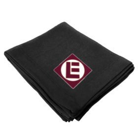 Erie Lackawanna Railway Embroidered Stadium Blanket