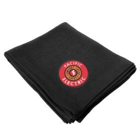 Pacific Electric Railway Embroidered Stadium Blanket