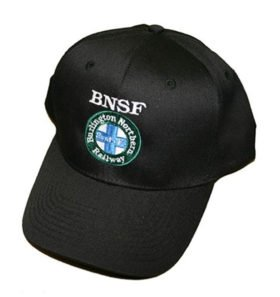 Burlington Northern Santa Fe Intermodal Logo Embroidered Hat [hat03]