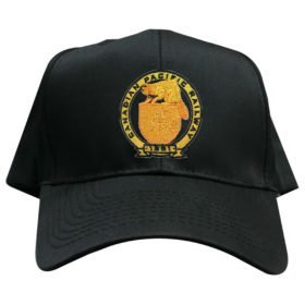 Canadian Pacific Railway Golden Beaver Embroidered Hat [hat102]