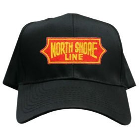 Chicago North Shore and Milwaukee Railroad Embroidered Hat [hat114]