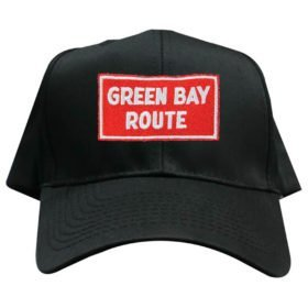 Green Bay and Western Railroad Embroidered Hat [hat117]