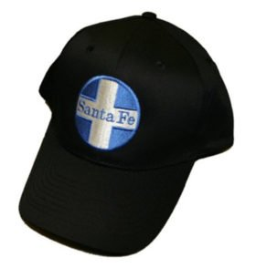 AT&SF Santa Fe Blue Cross Embroidered Hat [hat16]