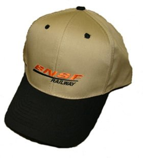 BNSF Swoosh Logo Embroidered Hat [hat48]