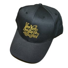 New York, New Haven and Hartford Railroad Embroidered Hat [hat57]