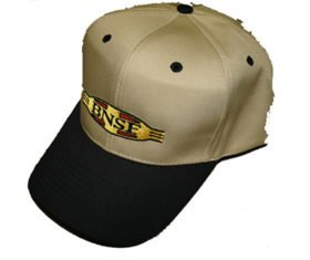 BNSF Cigar Band Logo Embroidered Hat [hat61]
