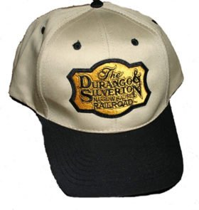 Durango and Silverton Narrow Gauge Railroad Embroidered Hat [hat93]