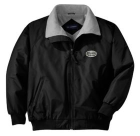 New York Central White Logo Embroidered Jacket [28]