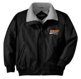 BNSF Swoosh Logo Embroidered Jacket [48]