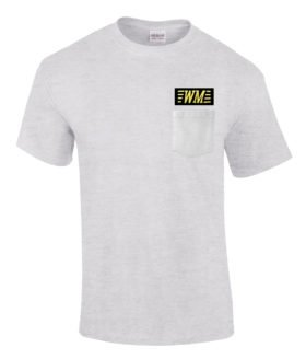 Western Maryland Railroad Embroidered Pocket Tee [p07]