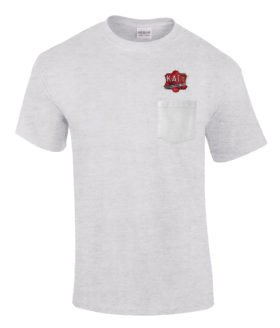 Missouri Kansas Texas Railroad Embroidered Pocket Tee [p105]