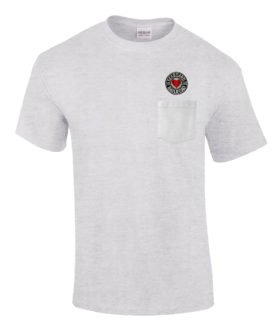 Seaboard Air Line Railroad Embroidered Pocket Tee [p116]
