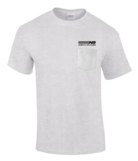 Norfolk Southern Railway Embroidered Pocket Tee [p32]