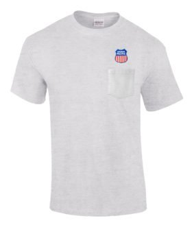 Union Pacific Railroad Embroidered Pocket Tee [p47]
