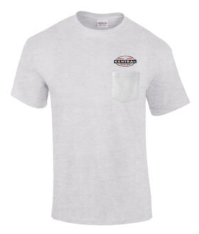 NYC Cigar Band Logo Embroidered Pocket Tee [p62]