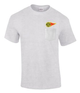 Western Maryland Fireball Logo Embroidered Pocket Tee [p63]