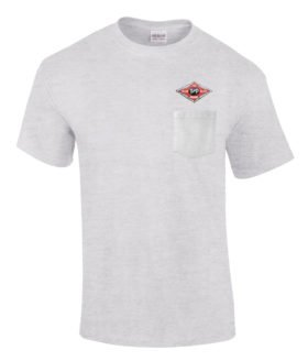 Texas and Pacific Railway Embroidered Pocket Tee [p69]