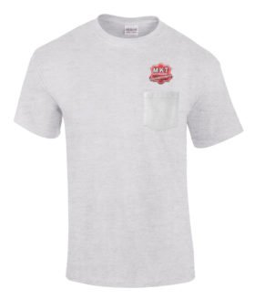 Missouri Kansas Texas Railroad Embroidered Pocket Tee [p70]