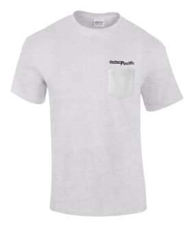 Southern Pacific Speed Lettering Logo Embroidered Pocket Tee [p76]
