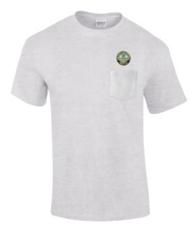 Northwesten Pacific Railroad Embroidered Pocket Tee [p80]