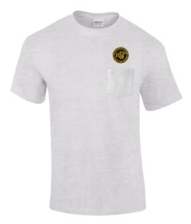 Richmond Fredericksburg and Potomac Railroad Embroidered Pocket Tee [p99]